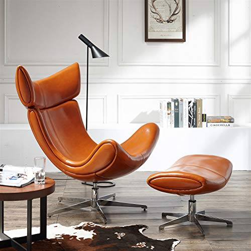 ZG Luxury Chair, Leisure Back Recliner, Living Room Snail Chair Modern Metal Lazy Sofa Chair for Hotel