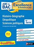 ABC du BAC Excellence HGGSP Terminale - La mention en plus - Nouveau Bac