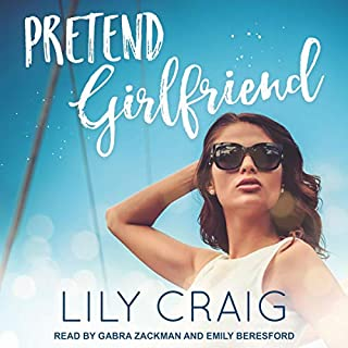 Pretend Girlfriend audiobook cover art