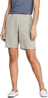 lands end elastic waist shorts