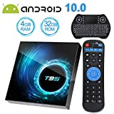 Android TV Box 10.0 with 4GB RAM 32GB ROM, EASYTONE T95 Android Box