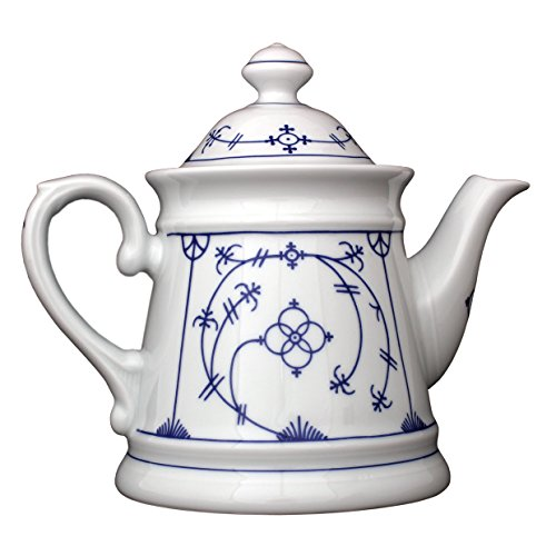 Eschenbach Porzellan Group Tallin Indischblau Teekanne 1,15 L, Porzellan, Indigoblau, 1 x 1 x 1 cm