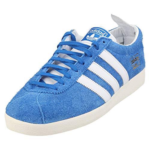 adidas Gazzelle Vintage FU9656 Blue/Ftwwht/GOLDMTBLEU/Ftwbla/ORMETA