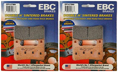 EBC Double-H Sintered Metal Brake Pads EPFA379HH (2 Packs - Enough 2 Rotors)