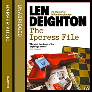 The Ipcress File                   By:                                                                                                                                 Len Deighton                               Narrated by:                                                                                                                                 James Lailey                      Length: 8 hrs and 46 mins     109 ratings     Overall 4.3