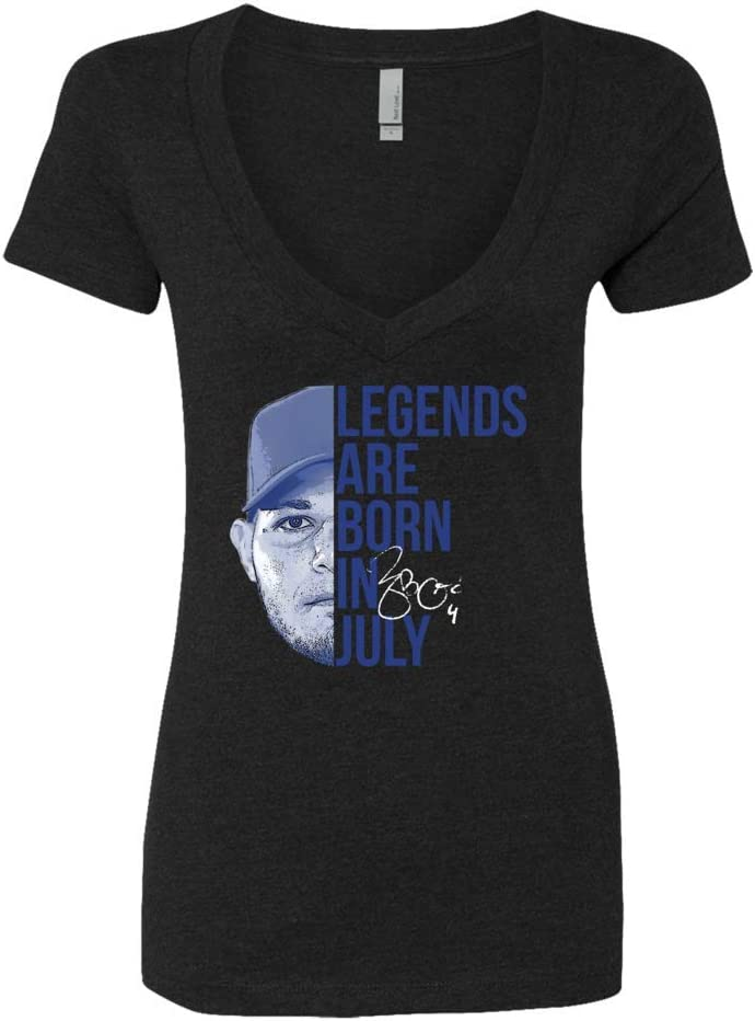 FanPrint Yadier Molina T-Shirt New Max 79% OFF York Mall - Legends July are in Born