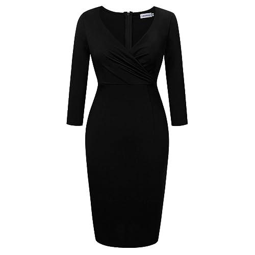 Classic Black Evening Dress Amazon