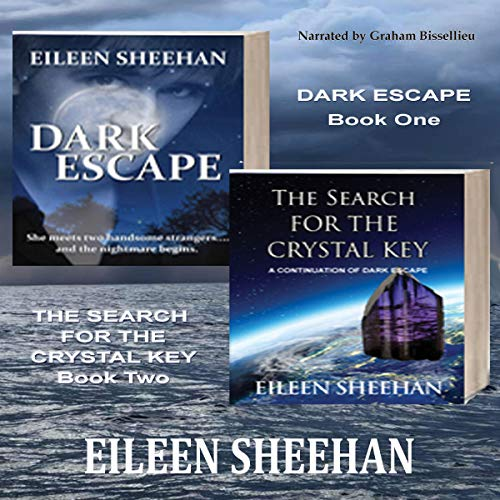 Dark Escape and The Search for the Crystal Key audiobook cover art