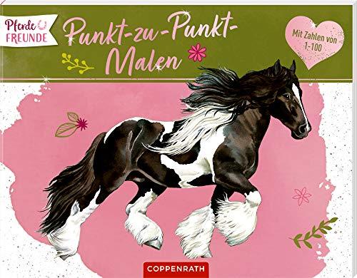 Pferdefreunde: Punkt-zu-Punkt-Malen: Mit Zahlen von 1 bis 100