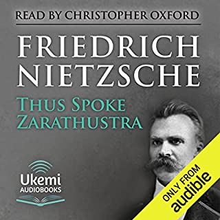 Page de couverture de Thus Spoke Zarathustra
