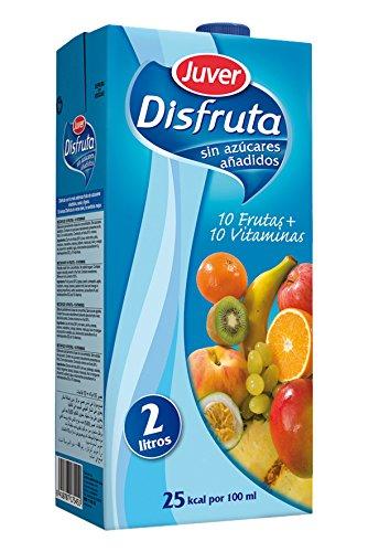 Juver - Bebida Refrescante Sin Azúcar 10 Frutas + 10 Vitaminas 2 L
