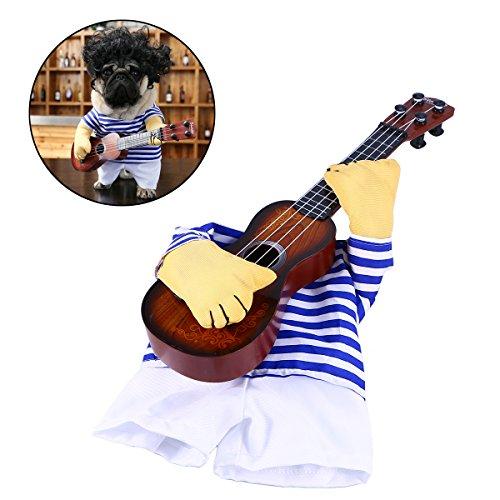 UEETEK Costume para Mascotas Traje Disfraz Ropa para Perros Gatos Dentro de 5kg size M