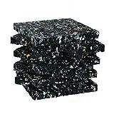Terrassenpads/Gummistreifen 100 x 100 x 10mm, 10 Stück, Marke Szagato (Gummipads als Unterlage für...