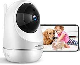 1080P Baby Monitor, Avstart Home Wireless Security Camera with Baby Crying Motion Detection, Night Vision, Two-Way Audio, Indoor Surveillance IP Camera for Baby/Elder/Pet/Nanny Monitoring