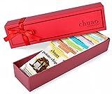 Chocolate Gift Set - Chuao Chocolatier Milk Mini Chocolate Bars 8 Piece Gift Set (.39 oz mini bars) - Best-Selling Variety Pack - Gourmet Artisan Milk Chocolate Assortment - Free of Artificial Flavors