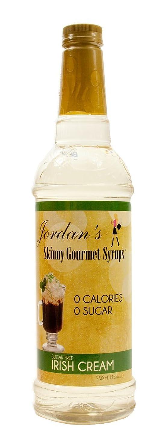 Jordan's Skinny Gourmet Syrups, Irish Cream, 25.4 Ounce (Pack of 6)
