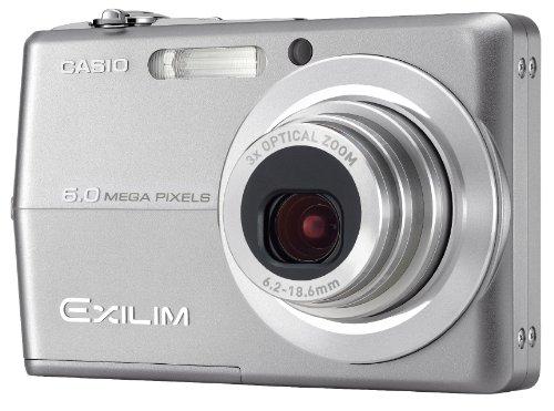 Casio Exilim EX-Z600 - Cámara Digital Compacta 6.2 MP (2.7 Pulgadas LCD, 3X Zoom Óptico), Plateado