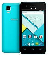 BLU Dash 4.0 C D370u Unlocked GSM Dual-SIM Dual-Core Android Smartphone - Blue