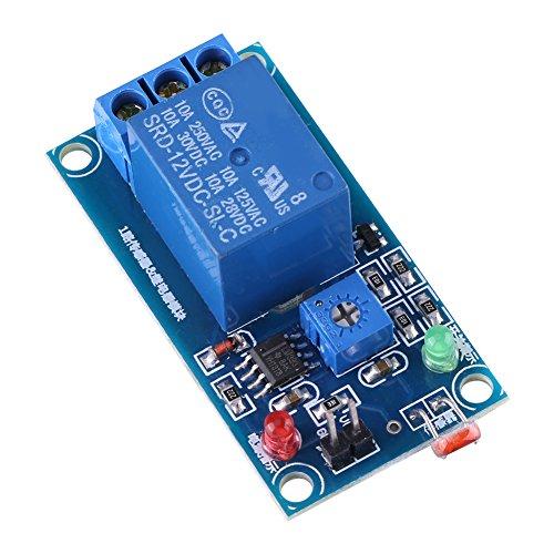 Interruptor de sensor de luz 12V Módulo de relé de fotoresistor LDR estable Interruptor de controlador de sensor de luz