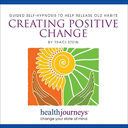 Creating Positive Change audiobook cover art