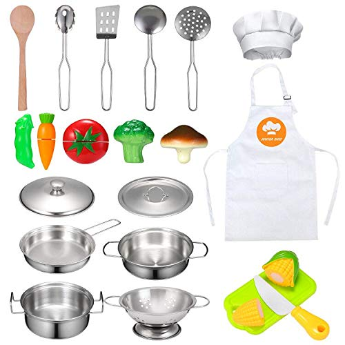Kitchen Pretend Play Toys with S...
