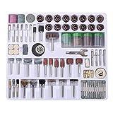 Mini herramienta giratoria de 216 piezas, kit de herramientas de pulido giratorio, taladro con caja, para modelo, manualidades, decoración del hogar, grabado de automóviles, pulido, afilado, creacione