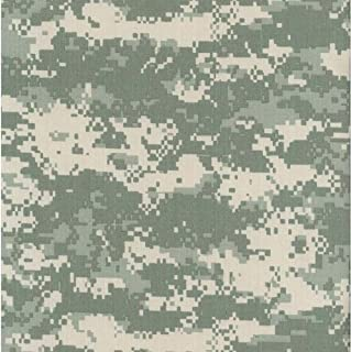Army ACU Universal Digital Camouflage Nylon/Cotton RIPSTOP Fabric Print by the Yard
