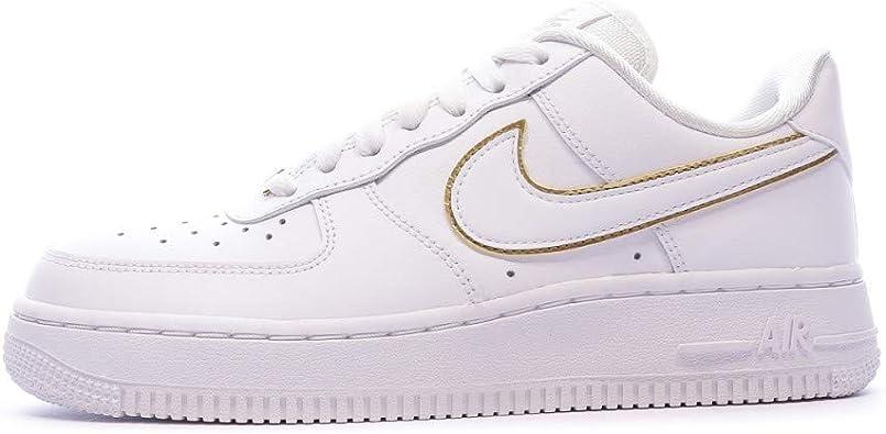 Nike Air Force 1 '07 Essential, Chaussures de Gymnastique Femme