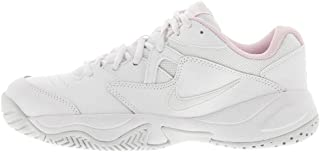 Nike COURT LITE 2, Women's Athletic & Outdoor Shoes, White (White/Photon Dust-Pink Foam)