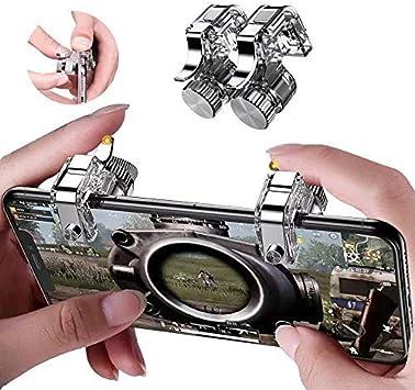 Mobile Game Controller Upgrade Joysticks Pack Adjustable Transparent Button