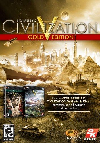 Sid Meier's Civilization V: Gold Edition [Online Game Code]