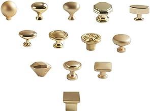 DX Meubelcomponent Golden Hand Drawer Handvat | Een hand/kast handvat - vier delen - verkrijgbaar in verschillende versies...