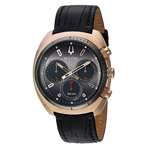Bulova Reloj Curv Hombre Cuarzo Zafiro Cristal 98A156