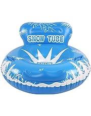banapo Tubo de Trineo de Carga al Aire Libre de 100 kg, Trineo de Nieve de Invierno, Inflable Flotante para niños Adultos