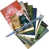 Lot de 10cartes postales de Loriot + + Cartes de vœux + + Chat Cartes + + Post Crossing + + Mix de Loriot