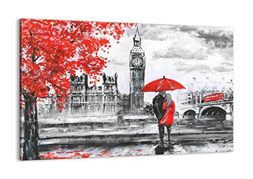 ARTTOR Stampe da Parete Grandi Dimensioni e Piccoli - Immagine su Tela - Quadri per Il Soggiorno E Quadri Cucina - Various Graphic Themes - AA120x80-3153