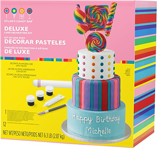 Wilton Dylan's Candy Bar Deluxe Cake Decorating Kit, Assorted