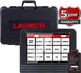 Launch X431 V (X431 Pro), OBD2 de Diagnóstico, Programación Llavero, ECU Codificación, ABS Frenado Sangrado, Funciones de Restablecimiento Incluyendo Reposición de aceite, EPB, SAS, DPF, BMS, SRS, TPMS, color negro