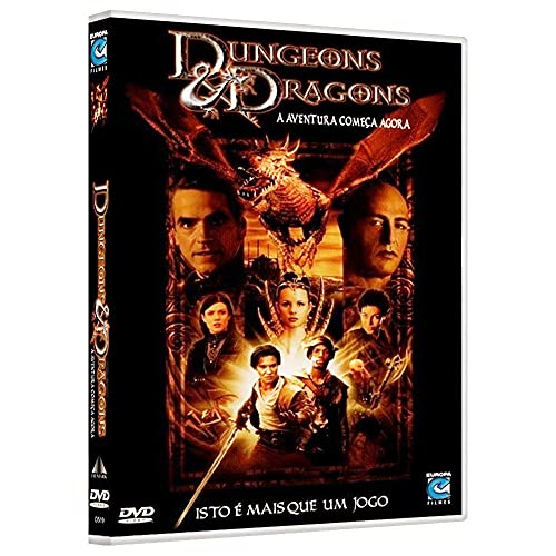 Dvd Dungeons Dragons - Jeremy Irons