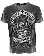WEST COAST CHOPPERS Camiseta para hombre Cash Only