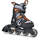 K2 Skates Jungen Inline Skate Raider — black - grey - orange — M (EU: 32-37 / UK: 13-4 / US:...