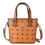 FTSUCQ Womens Mini Bucket Satchels Shoulder Handbags Casual Messenger Bag Hobos Satchels Purse