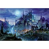 Puzzle 3D 1000 p -Castle-4000Puzzle Classique Puzzle Adulte 1000 Pièce Relax Puzzles Jeux