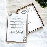 Zeitkapsel Karten-Box | Erinnerungsbox zum 18. Geburtstag |