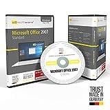 MS Office 2007 Standard DVD mit Original Lizenz & Lizenzunterlagen inklusive Lizenzrecht und Lizenzschlüssel und Installationsanleitung