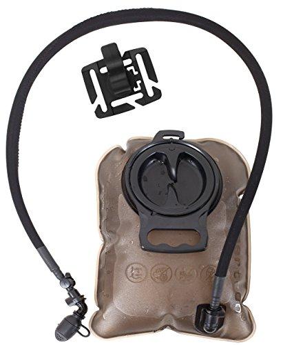 Seibertron 2 Liter Large Opening Water Bladder Hydration Pack Bladder BPA-Free TPU Material 2 Years Warranty