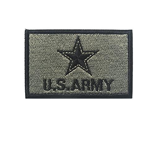 Parches para Ropa Signo del ejército Bordado Brazalete mágico Dispositivo Militar Famoso striknes (2PCS) 8 × 5 CM (Color : 2)