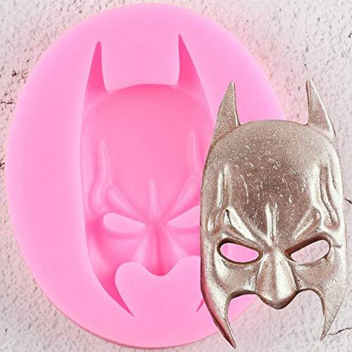 SUNSK 1PCS 3D Batman Form Silikonform Cookie Fondant Kuchenformen DIY Küche Backwerkzeuge Kuchen Dekorationswerkzeuge Schokoladenform