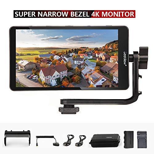 "Bestview S5 1920x1080 5.5\"" Super Narrow Bezel 4K HDMI HD DSLR Kamera Feld Monitor for A7 A7R A7S III A9 GH5 GH5s Zhiyun Crane 2 M TILTA G2X Ronin-S FeldMonitor (S5-B)"