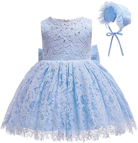 Coozy Baby Girls Dress Infant Princess Christening Baptism Party Birthday Formal Dress Baby product image
